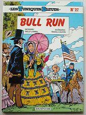Tuniques Bleues n° 27 Bull Run LAMBIL & CAUVIN Octobre 1987
