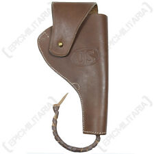 NOS Funda para M1917 Colt Pistola - caso cuero marrón Ejército portador Nuevo