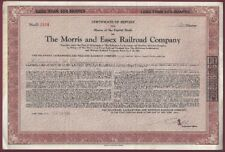 New listing The Morris and Essex Railroad Company Stock Certificate, 20 Shares, Jun 25, 1945