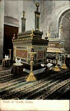 Ägypten Egypt alte AK ~1900 Tomb of Tewfik Pasha Grabkammer Grab Tomb ungelaufen