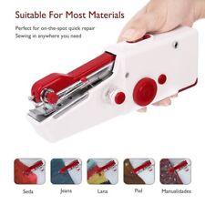 Sunbeam Portable Cordless Handheld Sewing Machine White Red