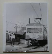 JAP524 - 1965 SEIBU RAILWAY Co - LOCOMOTIVE PHOTO Saginomiya Japan
