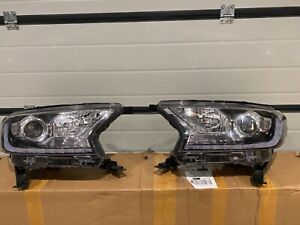GENUINE FORD RANGER 2019 onwards LED DRL XENON PAIR OF HEADLIGHTS
