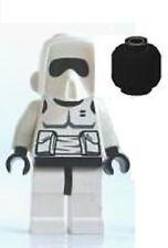 Lego Star Wars Minifig Scout Trooper ROTJ DARK BLUISH MARKINGS 7956 8038