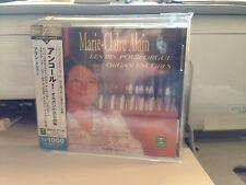 MARIE-CLAIRE ALAIN - Les Bis Pour Orgue (NEW SEALED JAPAN IMPORT CD WITH OBI)