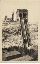 Marseille Ascenseur de Notre Dame de la Garde Rue Jules Moulet Savonnerie 1900