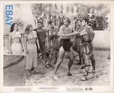 Lex Barker barechested Tarzan and the Slave Girl VINTAGE Photo