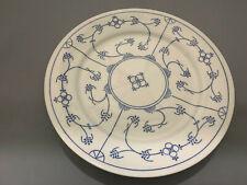 """Vintage Jager Eisenberg Blau Saks Pair of 10,1/2"""" Dinner Plates"""
