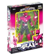 """[MINIFORCE] Mini Force Super Ranger LUCY Pink 5.5"""" Action Figure with 4 Weapons"""