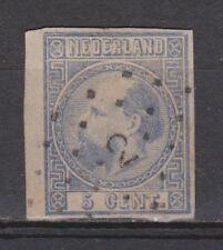 NVPH Netherlands Nederland nr 7 ONGETAND TOP CANCEL ALMELO (2) Willem III 1867