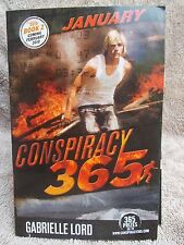 CONSPIRACY 365 BOOK 1 JANUARY GABRIELLE LORD P/B