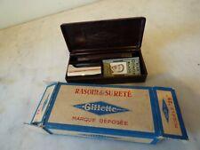 Rasoir de sureté Gillette  modèle 25 neuf en boite
