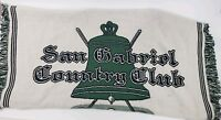 Vintage San Gabriel Country Club Cravens 70th Invitational Tournament Blanket