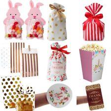 DIY Easter Decoration Rabbit Plastic Bag Wedding Box Thank You Tag Candy Box Bag