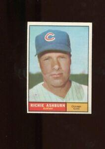 1961 Topps Richie Ashburn #88- Chicago Cubs HOF