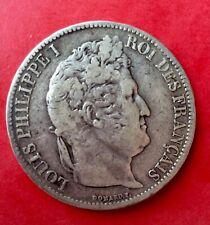 France - Louis Philippe - Rare 5 Francs 1831 I  tête laurée/ tranche relief