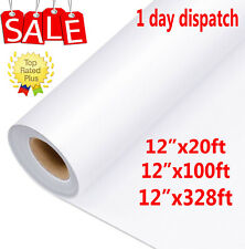 UK 100M Clear Vinyl Application Tape for Car Wall Craft Art Decal Transfer Paper