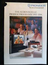 PIONEER PROSPEKT,SEITEN 20,AUS 95,VSA D802S,PD S904,PD 95,77,EXCLUSIVE C/M7,A 09
