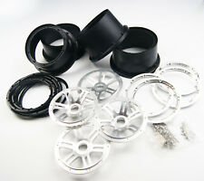 Aluminium alloy wheel beadlock with plastic part for hpi rv baja 5b SS