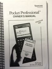 Manual for Sparcom Calculus Pac for HP 48SX/48GX Calculator