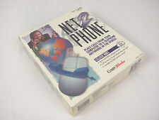 NOS 1997 Net2Phone Vintage Software Windows 95/3.1 Cd-Rom by CompuWorks Sealed