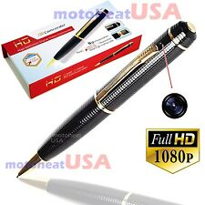 REAL 1080p FULL HD Spy REC PEN Cam Nanny Video/Voice Hidden Recorder Camera