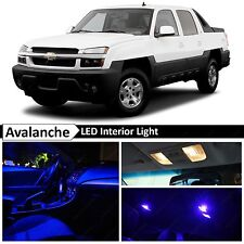 Blue LED Lights Interior Package Kit 2002-2006 Chevy Avalanche