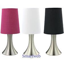 Touch Nachttischlampe Nachttischleuchte Tischlampe Nachtlampe Stehlampe Lampe