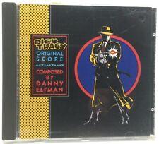Dick Tracy Original Soundtrack Score by Danny Elfman CD (1990)