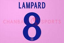 Lampard #8 2013-2015 Chelsea UEFA Champions League Awaykit Nameset Printing