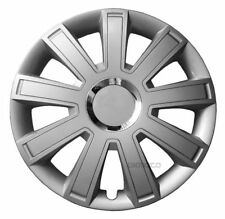 """14"""" Wheel trims for Suzuki Alto Wind Celerio full set silver 14 inch"""