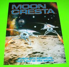Gremlin Sega MOON CRESTA Arcade FLYER 1980 Original NOS Video Game Artwork Sheet