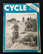 Vintage Cycle Magazine February 1953 - The Daredevil Rider - Harley Davidson AD