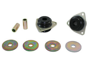 Whiteline W81654 Trailing Arm Lower Front Bushing fits Land Rover 90/110 2.5 ...