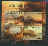 Dänemark - Färöer Block36 (kompl.Ausg.) postfrisch 2015 Atkinson (9368502