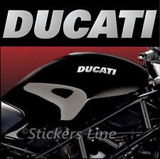 2 Adesivi serbatoio DUCATI Monster scritte adesive motorcycle tank stickers