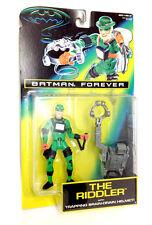 DC COMICS BATMAN Jim Carrey come RIDDLER figura Boxed & NON APERTO RARO