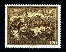 YUGOSLAVIA - JUGOSLAVIA - 1976 - Centenario della guerra di liberazione del Mont