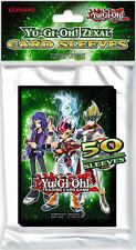 Yu-Gi-Oh! Zexal card sleeves Pacchetto da 50 proteggi carte NUOVO
