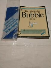 """1989 Special Edition Eddie Bauer """" The Unbelievable Bubble Book"""" Guineas Record"""