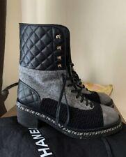 Authentic rare Chanel combat boots size 39 EU, 9 US