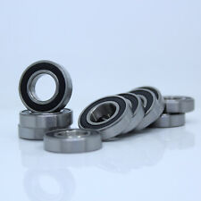 [10Pcs] 6901-2RS 6901RS Deep Groove Rubber Shielded Ball Bearing (12mm*24mm*6mm)