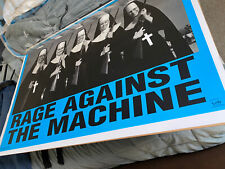 Rage Against The Machine Poster Nuns With Guns R.A.T.M. 1997 Funky