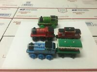 Thomas & Friends Wooden Railway Train WINTER CABOOSE  Learning Curve Lot of 5