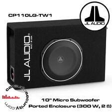 "JL Audio CP110LG-TW1 - 10"" MicroSub Ported Enclosure (300 W, 2 OHM) RMS 10TW1"