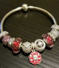 Authentic!! NEW. Pandora Charm bracelet. Lucky Red!