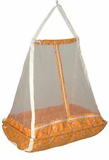 JACK & JILL >Baby Happy Cradle With Top Swing Jhula With Mosquito Net