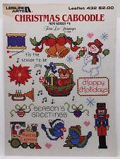 Leisure Arts Leaflet #432 Christmas Caboodle Mini Series4 1986 Corner Stain 1264