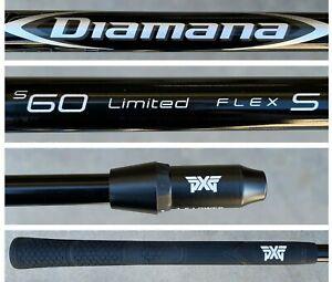 PXG Diamana 60 S+ Series Blueboard Limited Stiff Flex DRIVER SHAFT Fits All PXG