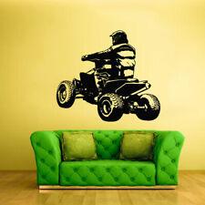Wall Vinyl Sticker Bedroom Decal Quad Chopper Moto Motorcycle ATV (Z2366)